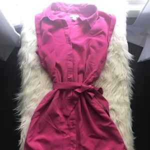 Old navy fuchsia dress